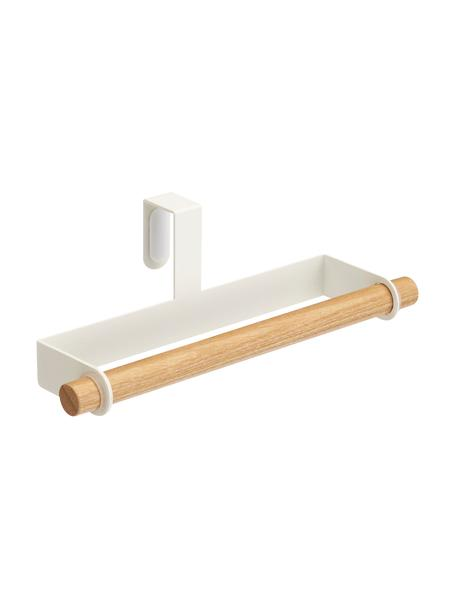 Wieszak na ręczniki Tosca, Biały, drewno naturalne, S 19 x W 6 cm