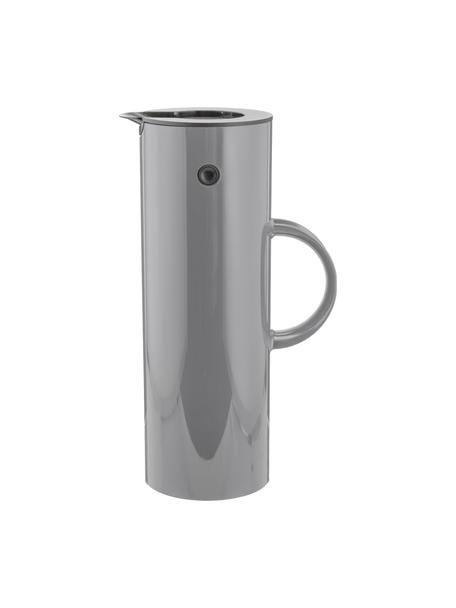 Brocca isotermica in grigio lucido EM77, 1 L, Plastica ABS, interno con inserto in vetro, Grigio granito, 1 l