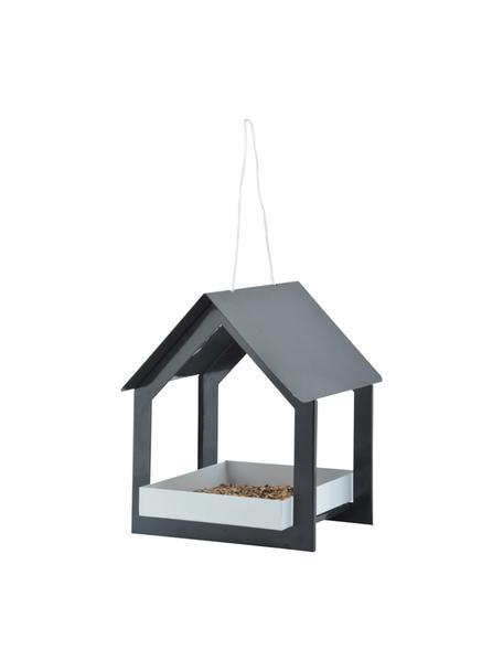 Comedero para pájaros Rado, Acero, Gris antracita, blanco, An 19 x Al 23 cm