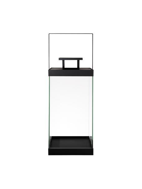 Laterne Finca, Gestell: Metall, beschichtet, Schwarz, Ø 20 x H 58 cm