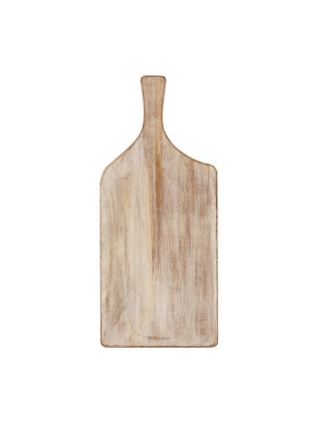 Deska do krojenia z drewna mangowego Limitless, Drewno mangowe, powlekane, Drewno mangowe, D 50 x S 22 cm