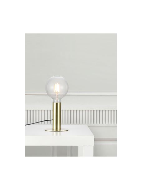 Lámpara de mesa pequeña de metal Dean, Latón, Ø 13 x Al 15 cm