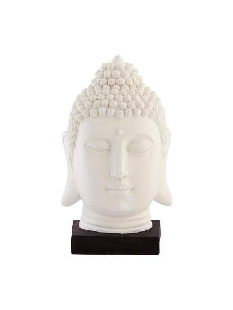 Figura decorativa Serafina Asia, Plástico, Blanco, negro, An 16 x Al 30 cm