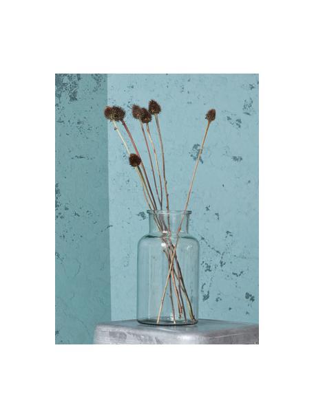 Vaso in vetro trasparente Jaredya, Vetro, Trasparente, Ø 14 x Alt. 26 cm