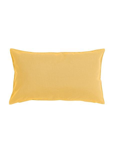 Poduszka zewnętrzna z wypełnieniem St. Maxime, Żółty, czarny, S 30 x D 50 cm