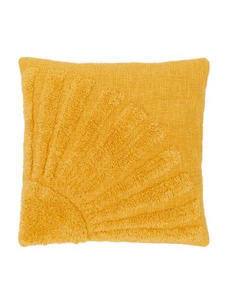 Kissenhülle Ilari, 100% Baumwolle, Gelb, 45 x 45 cm