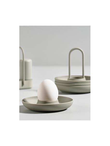 Eierbecher Henk mit Tragegriff, 4 Stück, Greige, Ø 11 cm
