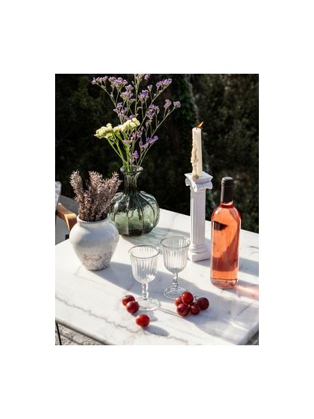 Kleine Weingläser Belem, 12 Stück, Glas, Transparent, Ø 8 x H 15 cm