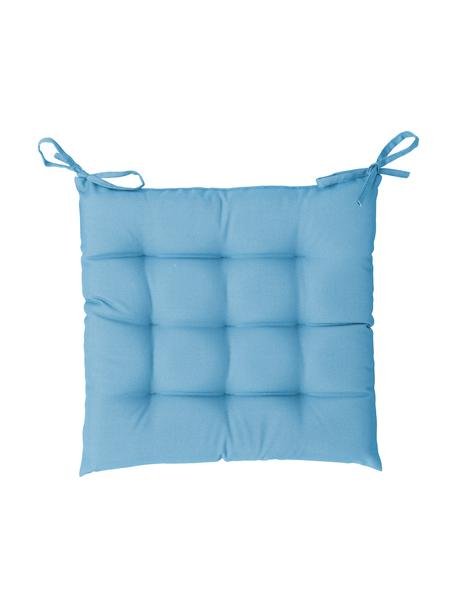 Zewnętrzna poduszka na krzesło St. Maxime, Tapicerka: poliester, Turkusowy, S 38 x D 38 cm