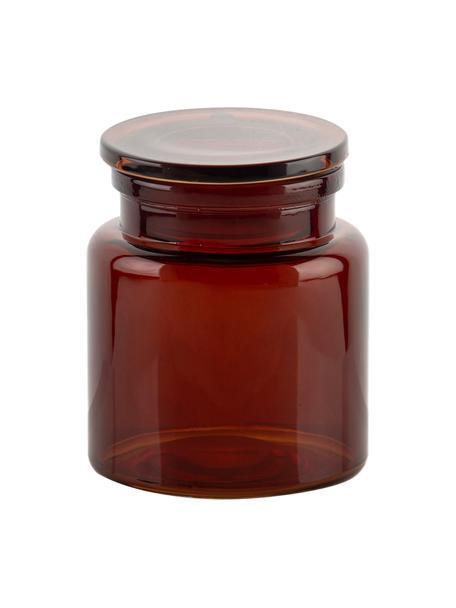 Aufbewahrungsdose  Dorsey, Glas, Braun, Ø 10 x H 12 cm