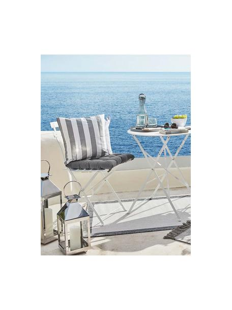Poduszka na krzesło Ava, Ciemny szary, S 40 x D 40 cm
