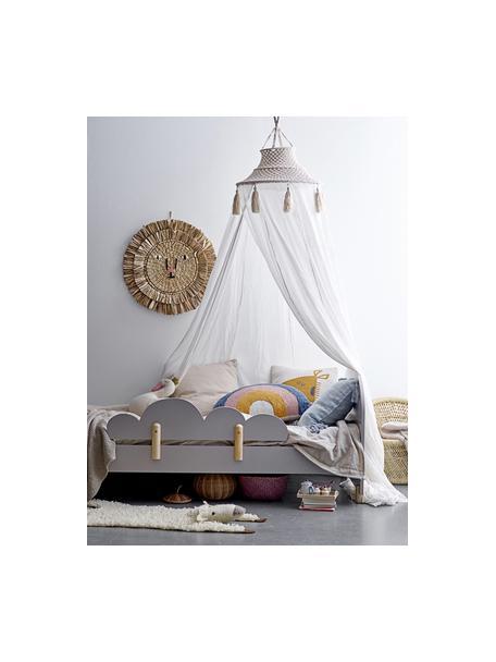 Dosel para cama Stars, Algodón, metal, Blanco, crema, Ø 50 x Al 275 cm