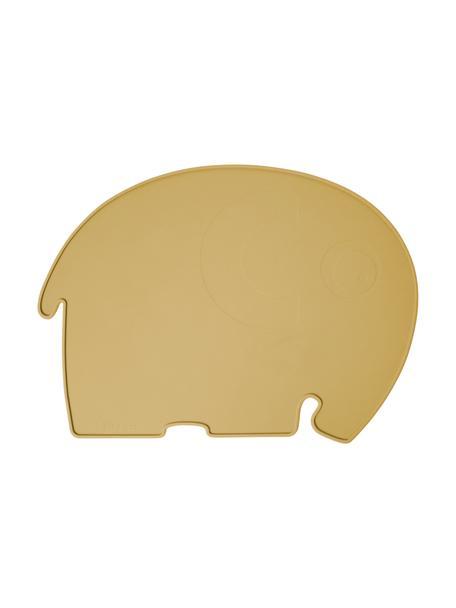 Mantel individual Fanto, Silicona, libre de BPA, Amarillo, An 43 x Al 33 cm