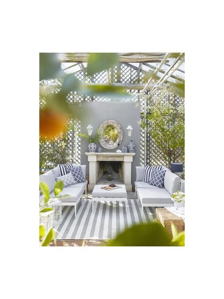 Set lounge modular de exterior Acton, Tapizado: 100%poliéster Alta resis, Estructura: metal con pintura en polv, Gris, An 226 x F 148 cm