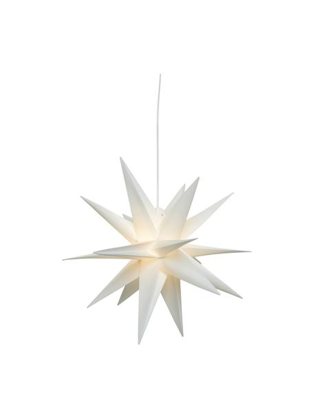 Stella luminosa a LED a batteria con spina Zing, Ø40 cm, Bianco, Ø 30 cm