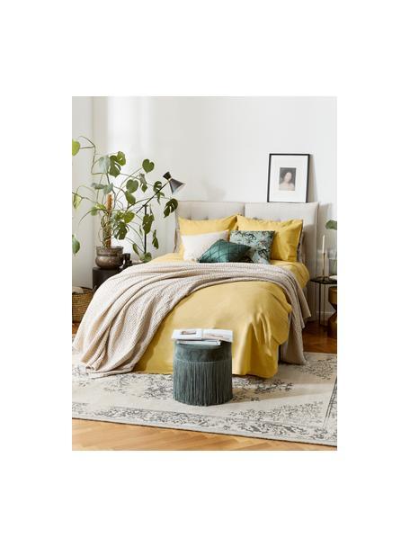 Colcha texturizada Vigo, 100%algodón, Creme, Cama 150/160 cm (220 x 240 cm)