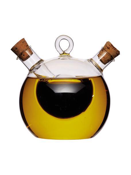 Set olio e aceto Ital, Trasparente, Ø 9 x Alt. 12 cm