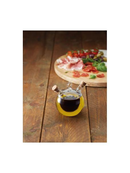 Aceitera y vinagrera Ital, Recipiente: vidrio de borosilicato, Transparente, Ø 9 x Al 12 cm