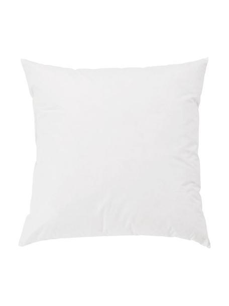 Imbottitura cuscino in piumino/piuma Premium, 60 x 60, Rivestimento: twill fine, 100% cotone s, Bianco, Larg. 60 x Lung. 60 cm