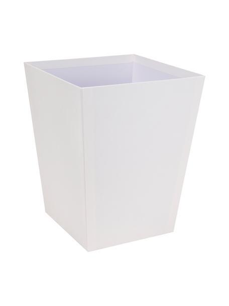 Papiermand Sofia, Massief, gelamineerd karton, Wit, 26 x 33 cm