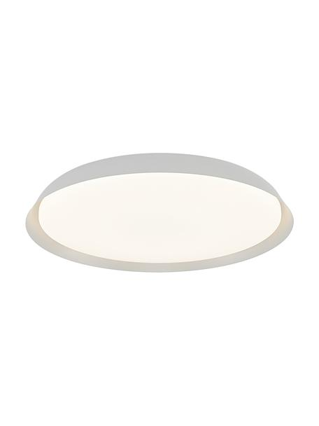 Plafoniera a LED Piso, Paralume: metallo rivestito, Bianco, Ø 37 x Alt. 5 cm