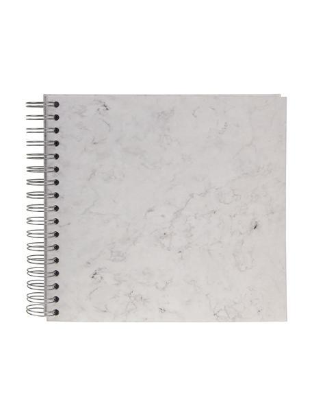 Album na zdjęcia Picture, Biały, marmurowy, S 25 x W 22 cm