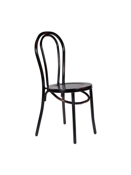 Silla Ninio, Acero, Negro, An 40 x Al 87 cm