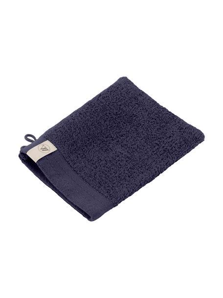 Guanto da bagno Soft Cotton 2 pz, Blu navy, Larg. 16 x Lung. 21 cm