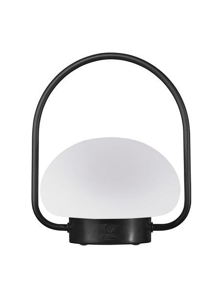 Mobilna lampa zewnętrzna z funkcją przyciemniania Sponge, Biały, czarny, Ø 23 x W 28 cm