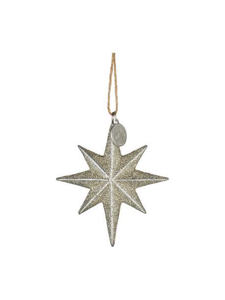 Ciondolo Serafina Star 2 pz, Dorato, Larg. 7 x Alt. 8 cm