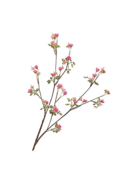 Fiore nontiscordardime artificiale, rosa 2 pz, Materiale sintetico, filo metallico, Rosa, Lung. 66 cm