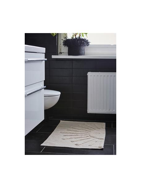 Dywanik łazienkowy z bawełny organicznej Sun, 100% bawełna organiczna Produkt posiada spód antypoślizgowy, Szary kamienny, S 60 x D 90 cm