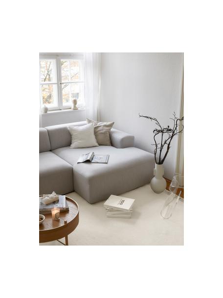 Alfombra kilim artesanal con flecos Rainbow, Flecos: 100%algodón Las alfombra, Blanco crudo, beige, An 140 x L 200 cm (Tamaño S)