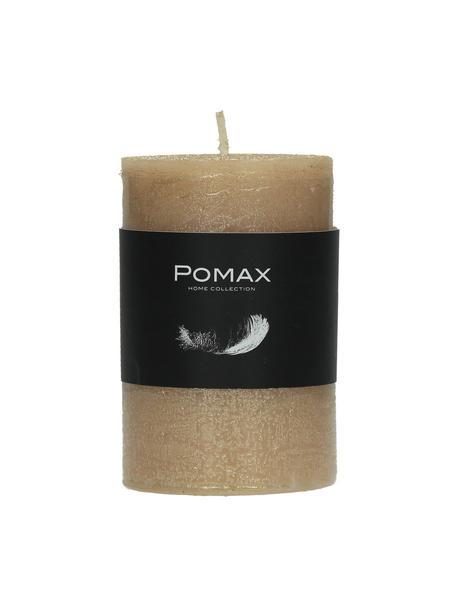 Stompkaars Arda, 80% paraffinewas, 20% palmwas, Champagnekleurig, Ø 5 x H 8 cm