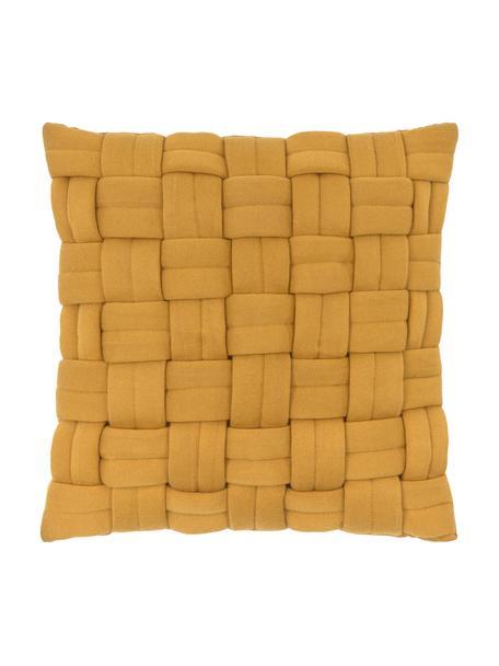 Poszewka na poduszkę Norman, Żółty, S 40 x D 40 cm