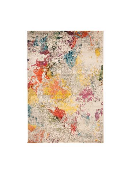 Tappeto colorato di design Celestial, Retro: juta, Multicolore, Larg. 120 x Lung. 180 cm (taglia S)