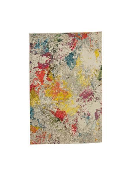 Tappeto di design colorato Celestial, Retro: juta, Multicolore, Larg. 120 x Lung. 180 cm (taglia S)