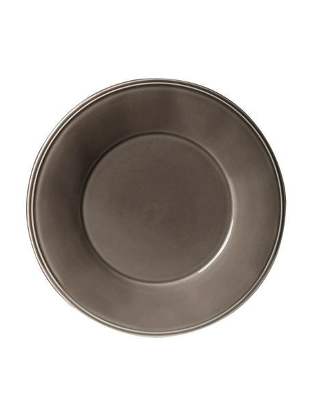 Talerz obiadowy Constance, 2 szt., Kamionka, Brązowy, Ø 29 cm