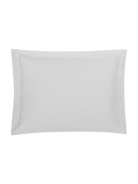 Funda de almohada de satén Premium, 50x70cm, Gris claro, An 50 x L 70 cm