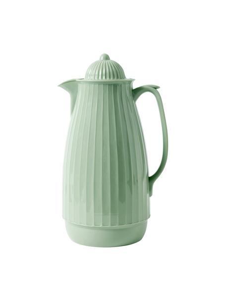 Termo Juggie,1L, Exterior: plástico, Interior: vidrio, Verde pastel, 1 L