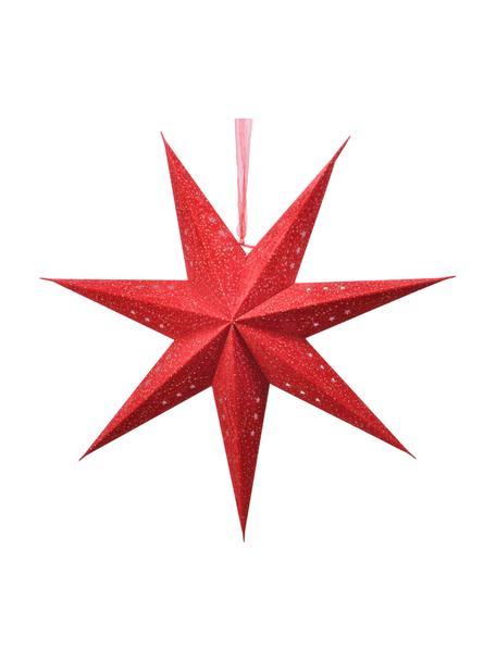 Estrellas luminosas LED grandes Amelia, Ø60cm, 2uds., con enchufe, Papel, Rojo, An 60 x Al 60 cm
