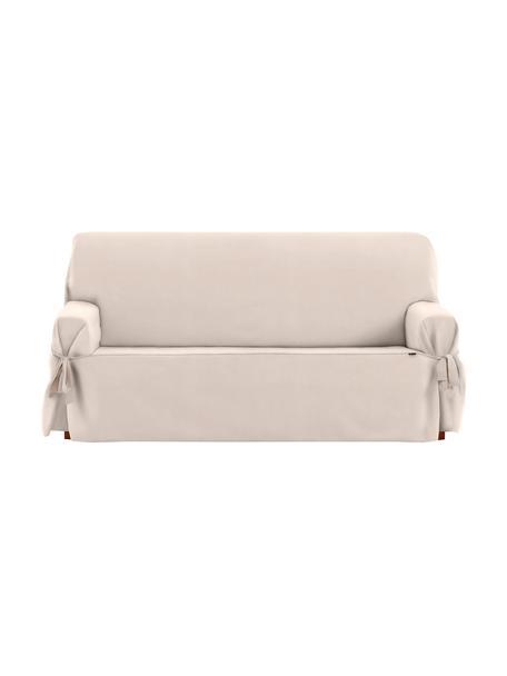 Pokrowiec na sofę Levante, 65% bawełna, 35% poliester, Beżowy, S 200 x W 110 cm