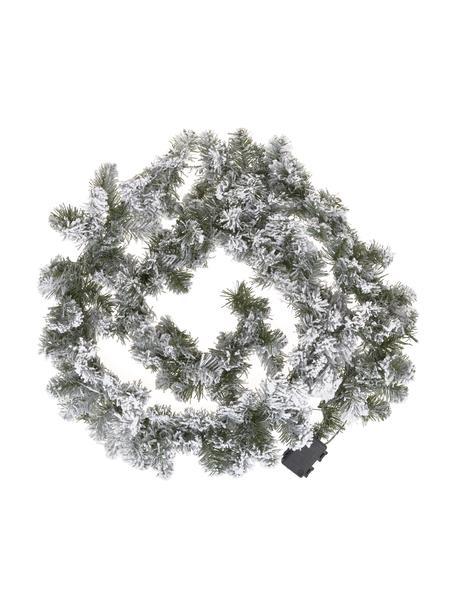 Ghirlanda a LED Imperial, lung. 270 cm, Materiale sintetico, Verde, bianco, Ø 25 x Lung. 270 cm