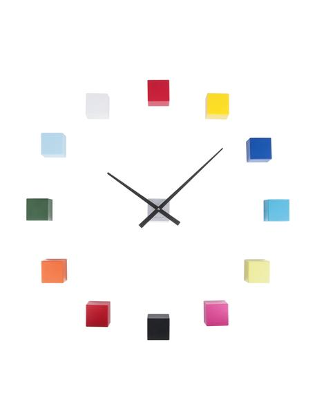Reloj de pared DIY Cubic, kit de montaje, Plástico, Multicolor, An 6 x Al 6 cm
