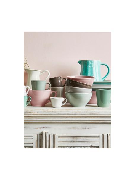 Kommen Constance in landelijke stijl, 2 stuks, Keramiek, Roze, Ø 15 cm