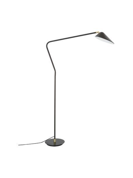Lampa do czytania Neron, Czarny, S 105 x W 171 cm