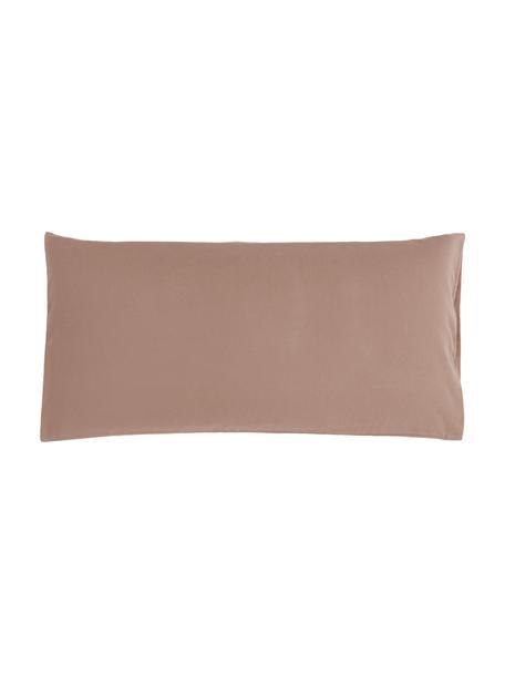 Flanell-Kissenbezüge Biba in Braun, 2 Stück, Webart: Flanell Flanell ist ein k, Braun, 40 x 80 cm