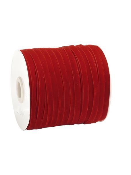 Nastro regalo Velveta, Nylon, Rosso, Larg. 0,6 x Lung. 10000 cm