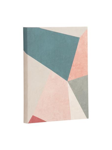 Stampa su tela Wrigley, Immagine: tela, Multicolore, Larg. 28 x Alt. 35 cm