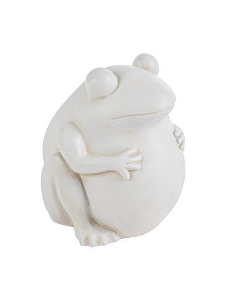Maceta Frog, Plástico, Blanco crudo, An 28 x Al 30 cm